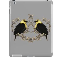 Yellow-headed Blackbird iPad Case/Skin