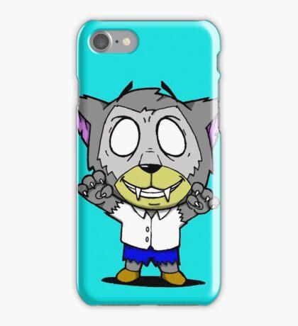 Halloweenies Werewolf iPhone Case/Skin