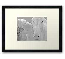 animal lovers Framed Print