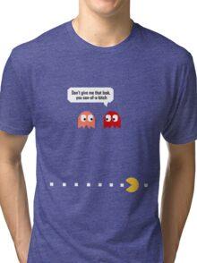 Pac Man Ghosts Tri-blend T-Shirt
