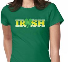 Irish BRIDE great for St Patricks day wedding Womens Fitted T-Shirt