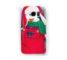 Christmas Penguin  Samsung Galaxy Case/Skin