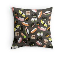 Sushi Party Throw Pillow