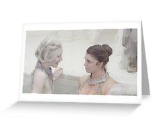 Stahma and Christie Bath Greeting Card