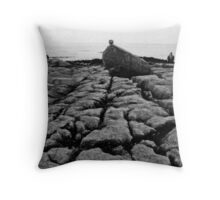 Waiting - West Coast - Ireland  Throw Pillow