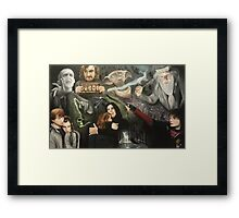 The Deathly Hallows Framed Print