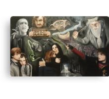 The Deathly Hallows Canvas Print