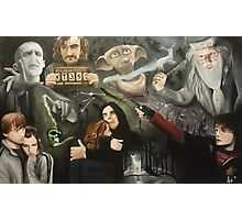 The Deathly Hallows Photographic Print