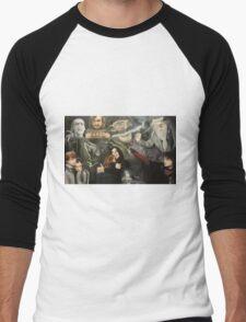 The Deathly Hallows Men's Baseball ¾ T-Shirt
