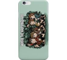 Where the Halflings Are iPhone Case/Skin
