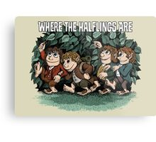 Where the Halflings Are Metal Print