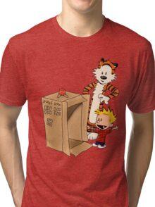 Calvin's new ride Tri-blend T-Shirt