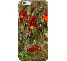 Summer Poppies iPhone Case/Skin
