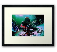 Takaakira Goto of Japanese instrumental rock band MONO Framed Print