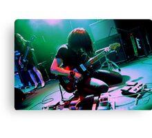 Takaakira Goto of Japanese instrumental rock band MONO Canvas Print