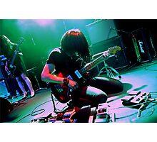 Takaakira Goto of Japanese instrumental rock band MONO Photographic Print