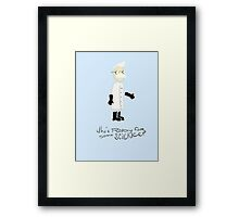 Professor Science Framed Print