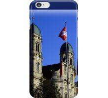 Einsiedeln Abbey iPhone Case/Skin
