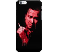 Bill Hicks (red) iPhone Case/Skin