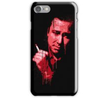 Bill Hicks (red) iPhone Case/Skin