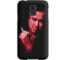 Bill Hicks (red) Samsung Galaxy Case/Skin