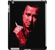 Bill Hicks (red) iPad Case/Skin