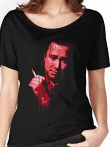 Bill Hicks (red) Women's Relaxed Fit T-Shirt