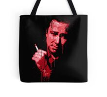 Bill Hicks (red) Tote Bag
