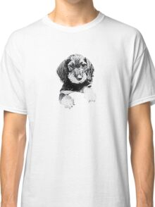 Wire-haired dachshund Classic T-Shirt