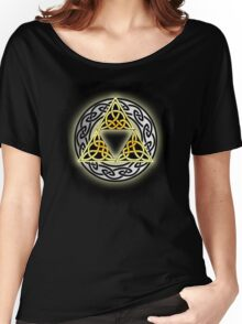 Celtic Triforce  Women's Relaxed Fit T-Shirt