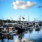 Olympia Harbor days  by Lady  Dezine