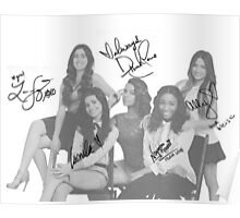 Signed Fifth Harmony Poster