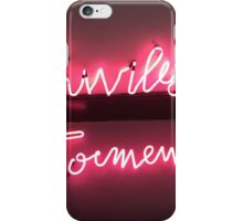 Privilege and Torment iPhone Case/Skin