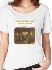 Crosby, Stills, Nash & Young - Deja Vu Women's Relaxed Fit T-Shirt