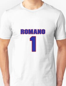 National Hockey player Roberto Romano jersey 1 T-Shirt