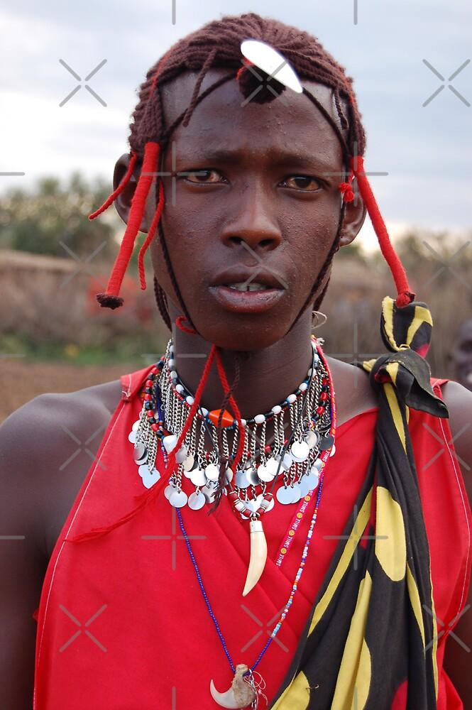 Masai Warrior by ApeArt