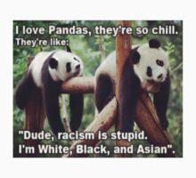 Non-Racist Panda Kids Tee