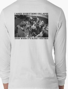 Modern Baseball - Broken Cash Machine (B&W) Long Sleeve T-Shirt