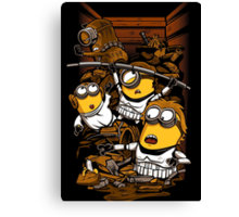 Despicable Rebels Canvas Print