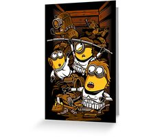 Despicable Rebels Greeting Card