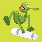 Skate Frog by Mark Walker