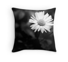 Isolated IV (b+w) Throw Pillow