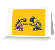 Martial Arts - Way of Life #1 Greeting Card