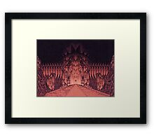 The Walls of Barad Dûr Framed Print