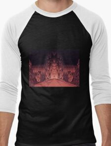 The Walls of Barad Dûr Men's Baseball ¾ T-Shirt