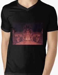 The Walls of Barad Dûr Mens V-Neck T-Shirt