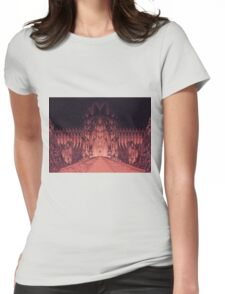 The Walls of Barad Dûr Womens Fitted T-Shirt