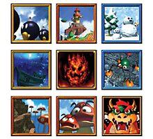 Super Mario 64 Paintings by WistfulKid