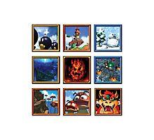 Super Mario 64 Paintings Photographic Print