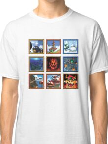 Super Mario 64 Paintings Classic T-Shirt